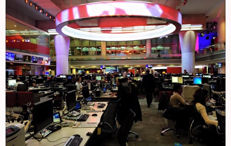 Newsroom BBC Londres