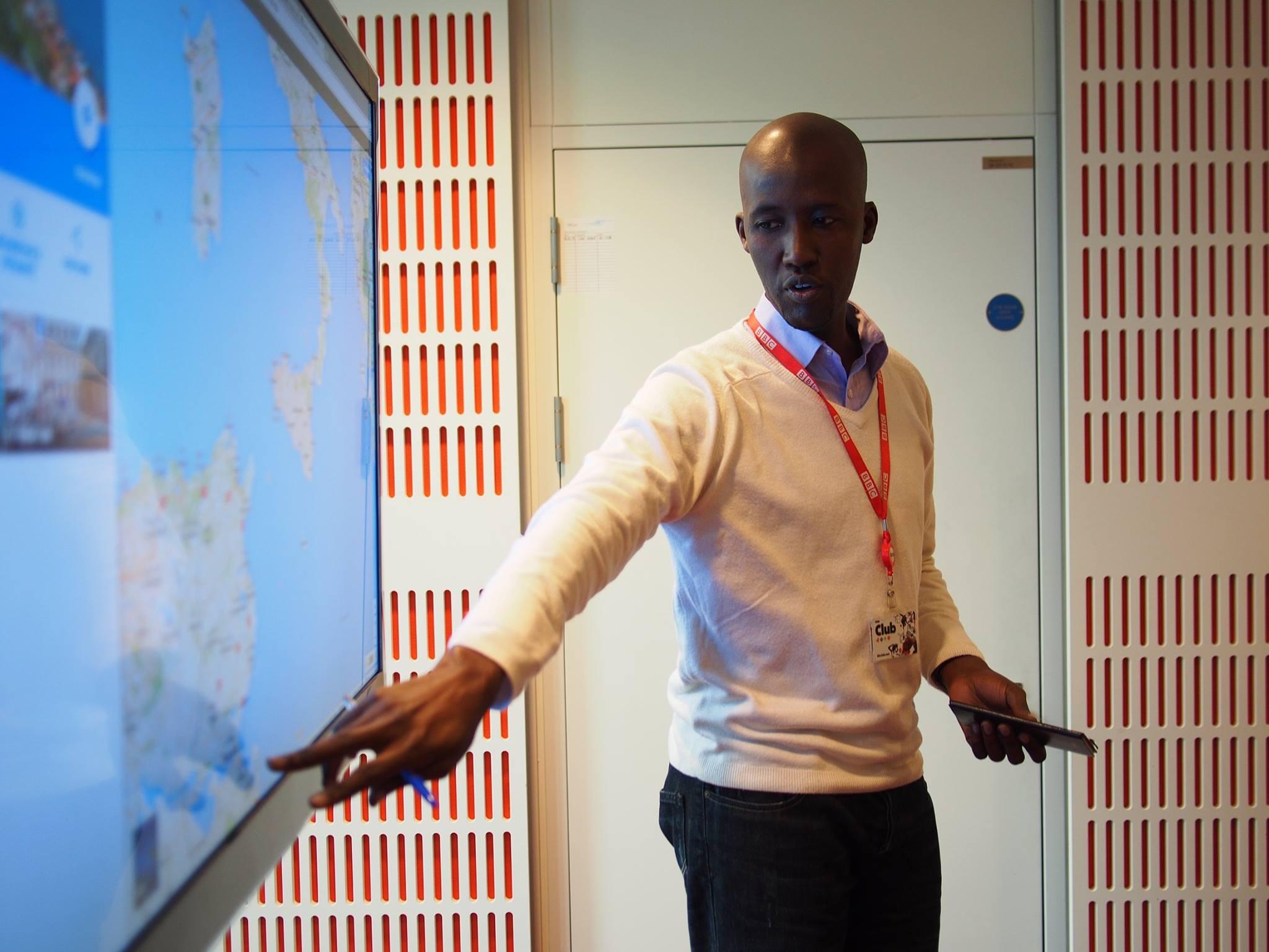 Alex Jakana, journaliste au service Afrique de la BBC.