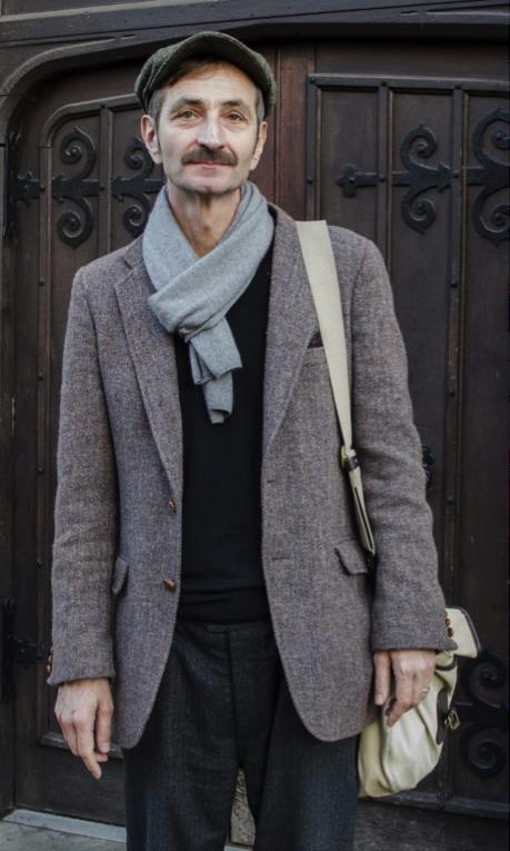 Edin Suljic, poète à Londres